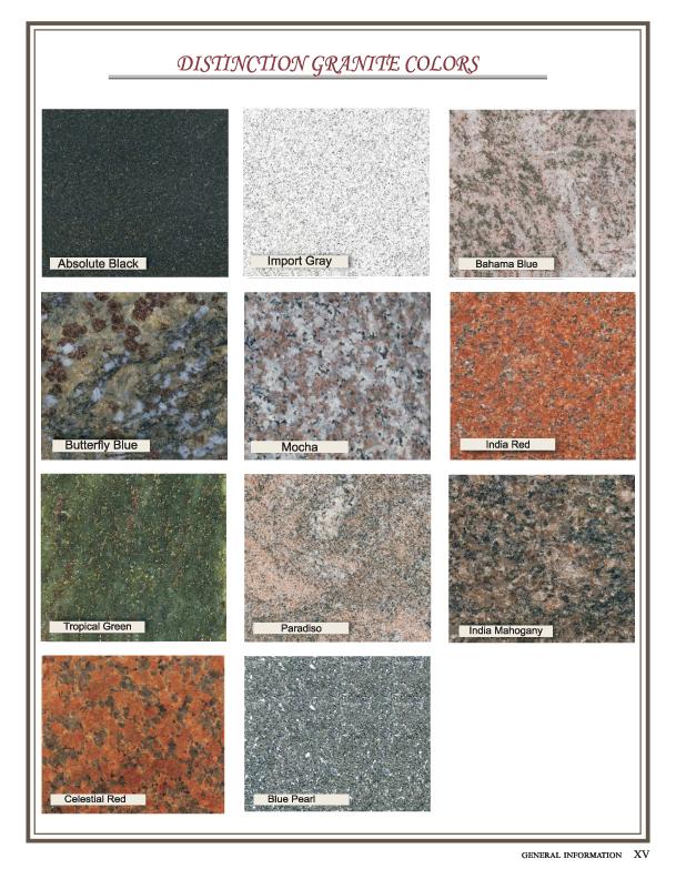 Granite - Star Distinction Color Option