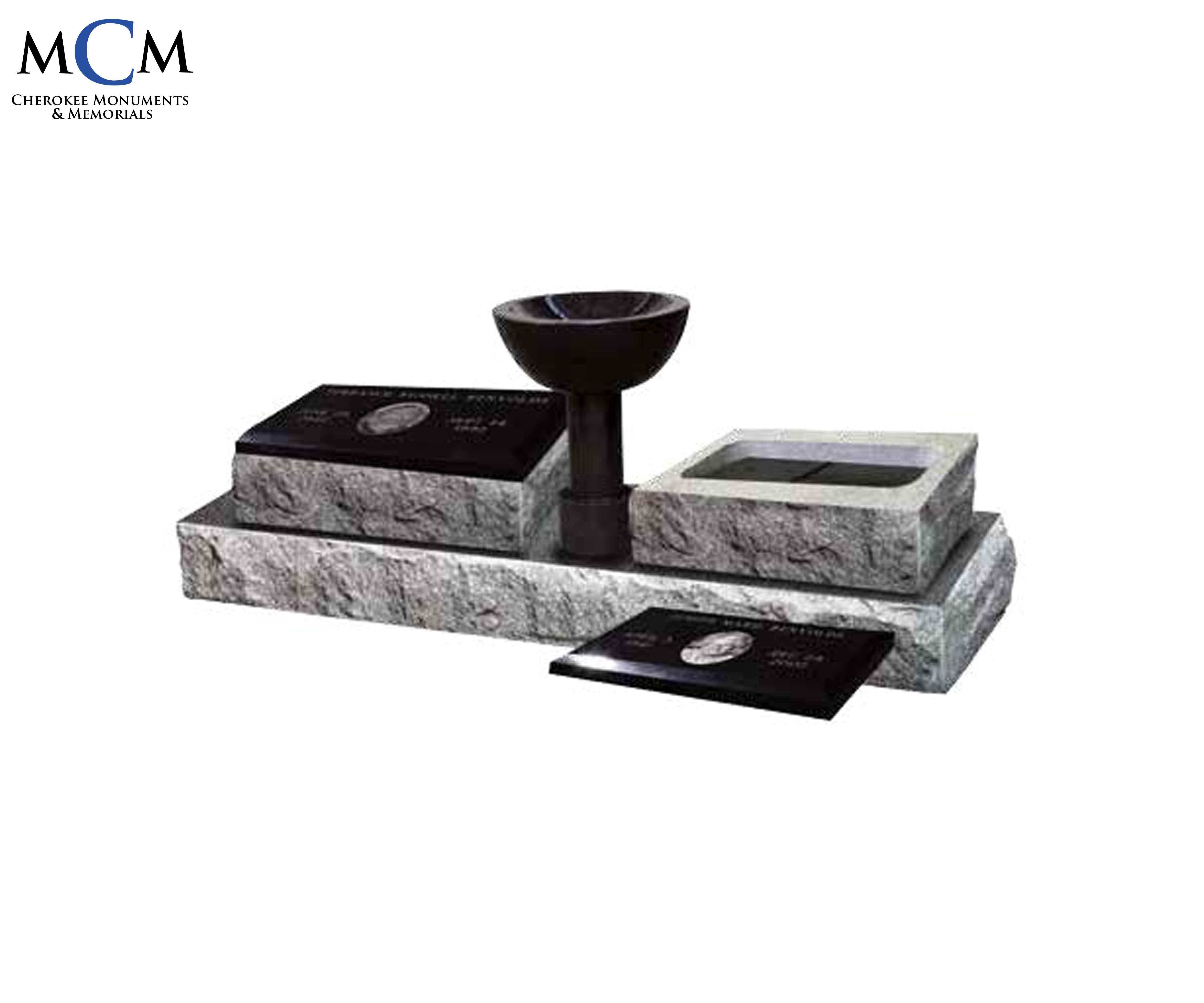 Granite Bevel Markers - Cherokee Monuments & Memorials